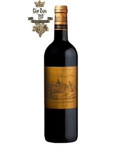 Rượu Vang Đỏ Chateau dIssan 3eme Grand Cru Classe có mầu đỏ ruby tím đậm. Hương thơm thơm cổ điển của quả việt quất, nho đen, hoa quả