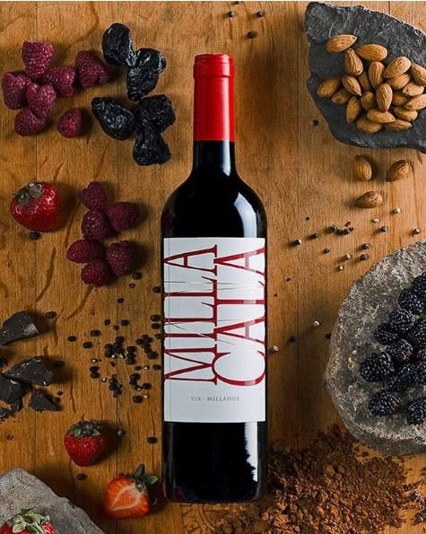 Vang Chile Đỏ Milla Cala Red 2019 là sự pha trộn giữa các mùi vị của những trái cây chín đỏ, bánh pudding