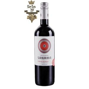 Rượu vang Chile Sanama Cabernet Sauvignon gây ấn tượng khá mạnh mẽ bởi sự phối hợp khá đa dạng của hương vị