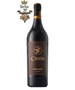 """Rượu Vang Đỏ Pháp Crida Cahors có mầu đỏ đậm ánh tím. """"Crida"""" có nghĩa là giọt nước mắt của kim đại bàng trong ngôn ngữ Occitan lãng mạn,"""