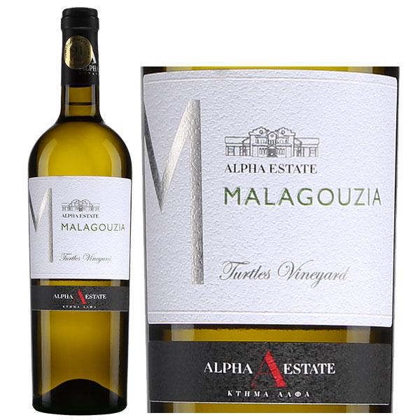 Vang Trắng Hy Lạp Alpha Estate Malagouzia 2019 với hương hoa và gia vị ngọt ngào, dưa, vải thiều với một nốt hương của cây kim ngân