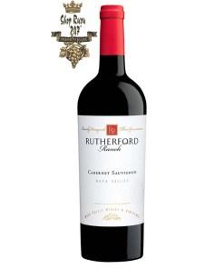 Rượu Vang Mỹ Rutherford Ranch Napa Valley Cabernet Sauvignon có mầu anh đào tối. Hương thơm của nho đen, anh đào đen, socola