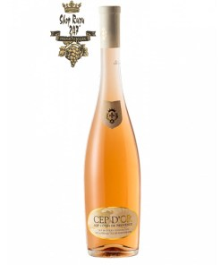 Rượu vang Pháp Vignerons St. Tropez Cep d'OR Rose Cotes Provence chứa một độ chua nhẹ nhàng trở nên hài hòa hơn