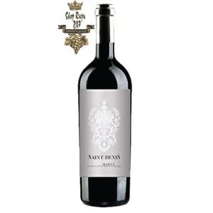 Rượu Vang Tây Ban Nha Saint Denis Limited Edition có mầu đỏ đậm quyến rũ đẹp mắt. Hương thơm phức tạp và toàn vẹn