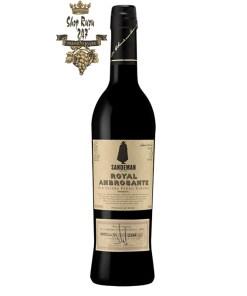 Rượu vang Tây Ban Nha Sandeman Pedro Ximenez Sherry DO là một đối tác lý tưởng cho các món tráng miệng sô cô la đen hoặc mocca đầy đủ