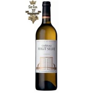 Rượu vang Pháp Château Haut Selve Graves white mang đến những hương vị đậm đà, quyến rũ cùng giá trị rất đặc trưng.