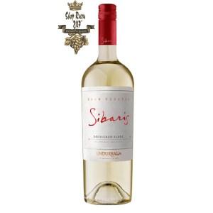 Rượu Vang Trắng Undurraga Sibaris Sauvignon Blanc có màu vàng xanh nhạt và có mùi hương mạnh mẽ của cam quýt, bưởi