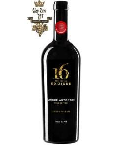 16 Edizione Limited Release có mầu đỏ rất sâu. Hương thơm dữ dội và dai dẳng của quả anh đào, các loại thảo mộc ,quế, đinh hương , cam thảo và ca cao.