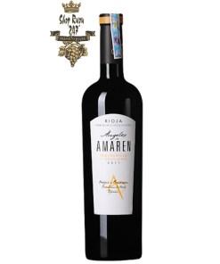 Rượu vang Angels del Amaren là một chai rượu vang hảo hạng đến từ đất nước xinh đẹp Tây Ban Nha – nổi tiếng coi trọng uy tín và chất lượng của vang .