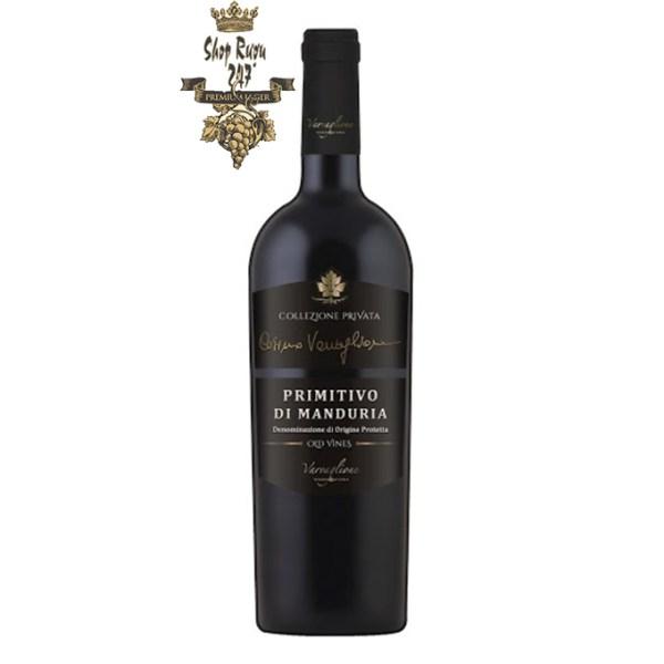 Rượu Vang Ý Privata Primitivo di Manduria là sự pha trộn hoàn hảo giữa yếu tố hiện đại tân thời và yếu tố cổ điển, gắn liền với những giá trị đi cùng thời gian vốn đã nổi tiếng từ lâu ở nước Ý