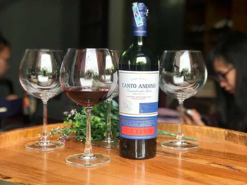 Rượu Vang Chile Canto Andino Reserva Cabernet Sauvignon có màu đỏ ruby với phản xạ ánh tím. Trên mũi, nó đậm và cho thấy