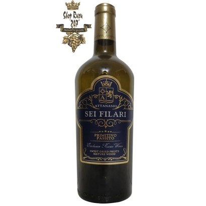 Hương vị củarượu có hương đặc trưng của mận và anh đào nổi bật trên mũi và morello cherry theo sau bởi nhiều tông màu: trái cây khô và gia vị.