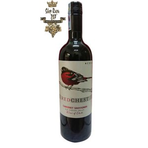 Rượu Vang Chile Red Chest Cabernet Sauvignon được ủ trong gỗ sồi. Những chiếc Cabs Chile thường già trong gỗ sồi Mỹ từ 1-2 năm