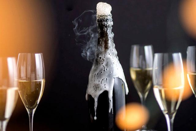 Vang, Champagne