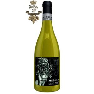 Rượu Vang Đỏ Pháp MEDUSA VIOGNIER PAYS D'OC (IGP) có màu đỏ tím đậm, đậm đà. Hương thơm tuyệt đẹp, tinh tế