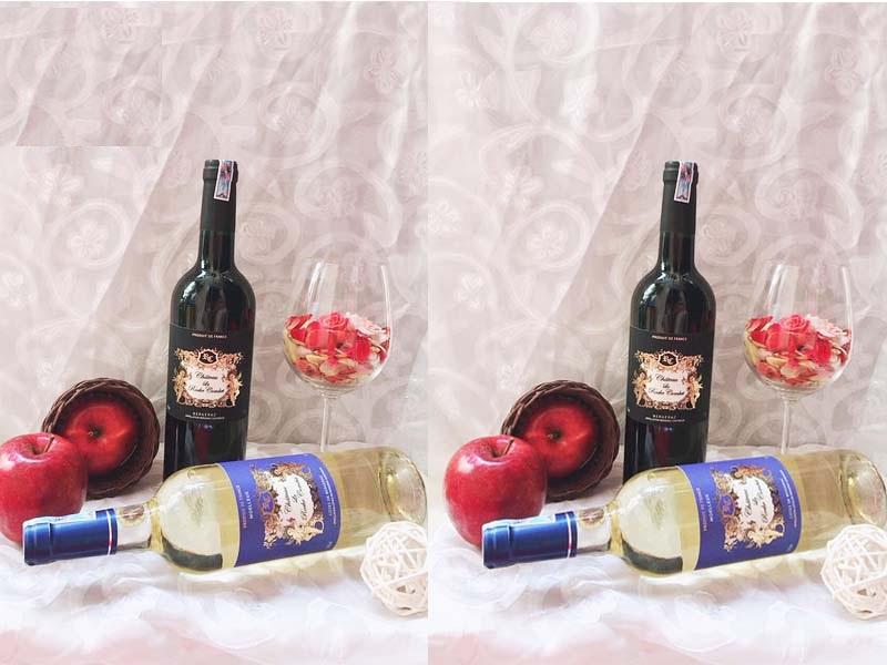 Vang Pháp Đỏ CHÂTEAU LA ROCHE COMBET đỏ có màu ruby ánh đỏ, chứa nhiều mùi vị của hoa quả chín