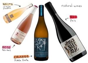Rượu vang thực sự tự nhiên được làm không có thêm men tiêu chuẩn, nước và các hợp chất hóa học khác