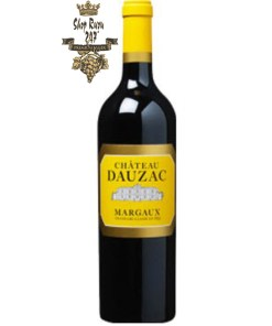 Vang Pháp Château Dauzac Margaux Grand Cru Classés là một loại rượu vang đỏ được sản xuất trong tên gọi Margaux