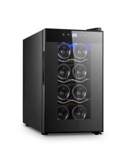 Sức chứa: Tủ máy nén 08 chai 25L Bảng điều khiển có thể tự khoá Kính cường lực cao cấp, công nghệ chống ngưng tụ