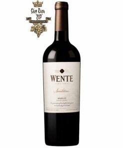 Rượu Vang Đỏ Mỹ WENTE Sandstone MERLOT