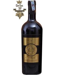 Rượu Vang Ý Đỏ Feudi Salentini Apollo Primitivo