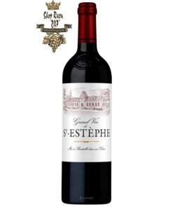 Vang Pháp Bordeaux Grand Vin De St-Estephe AOP 2015
