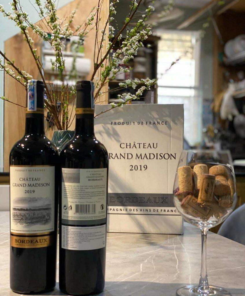 Rượu vang đỏ Chateau Grand Madison Bordeaux 1