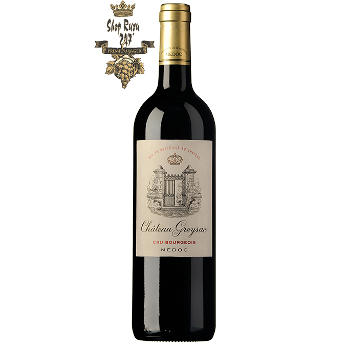 Rượu Vang Pháp Chateau Greysac Médoc Cru Bourgeois 2011 là sản phẩm nổi bật của điền trang Château Greysac, được Domaines Rollan De By