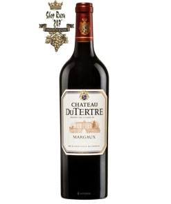 Vang Đỏ Château du Tertre Les Hauts du Tertre Margaux 2012 có sức mạnh cấu trúc và độ cân bằng tuyệt vời, phong cách mượt mà