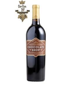 Rượu vang đặc biệt Chocolate Shop Wine