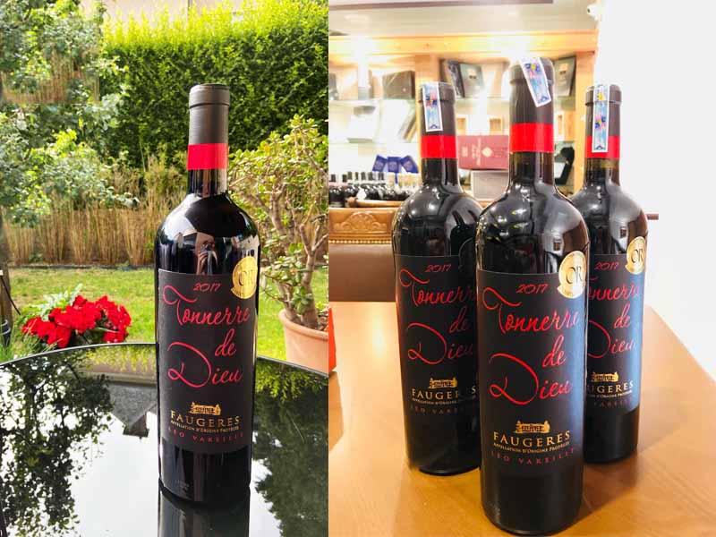 Vang Đỏ Pháp Leo Vareille Tonnerre De Dieu Faugeres 2014 là một loại rượu vang đỏ đã trải qua quá trình kiểm soát nghiêm ngặt,