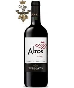 Rượu vang Argentina Terrazas Malbec 2