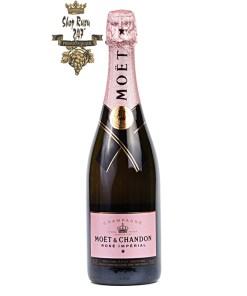 Vang Champagne Moet & Chandon Rose