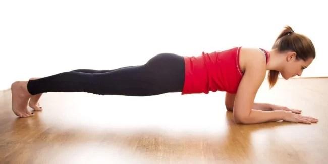 упражнения, которые преобразят ваше тело - планка