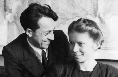 поэт Соболев Александр Владимирович  с женой