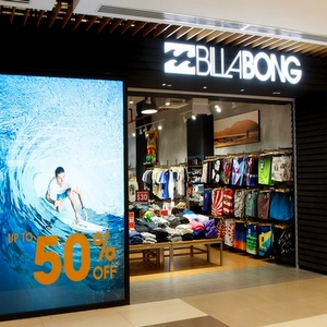 Billabong Outlet IMM shopping mall Singapore
