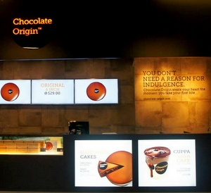 Chocolate Origin cake shop Changi Village Singapore