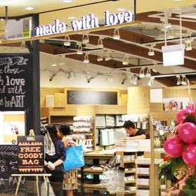 Made With Love scrapbooking store 313@Somerset Singapore