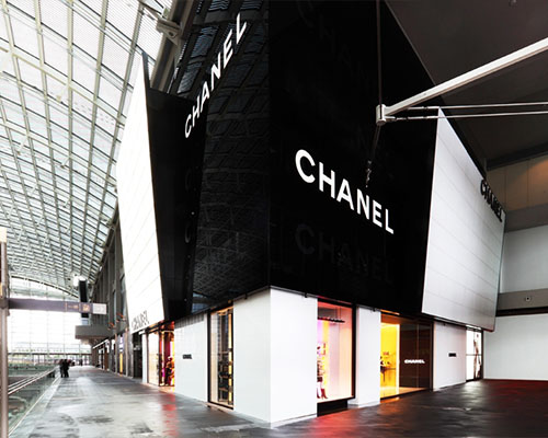 de6a46a3b776 Chanel shop at Marina Bay Sands in Singapore.