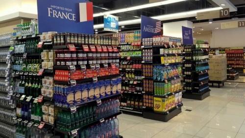Cold Storage supermarket store in Singapore.