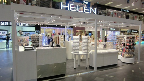 Helen Accessories shop at NEX mall in Singapore.
