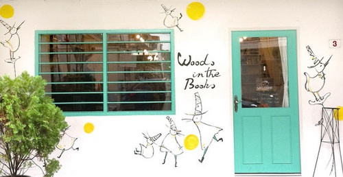Woods in the Books store Tiongs Bahru Singapore.