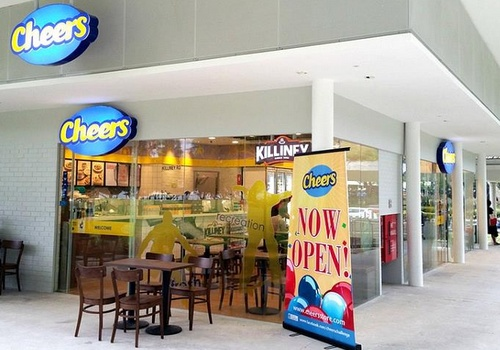 Cheers convenience store Parkland Green Singapore.