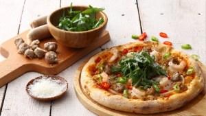 Tino's Pizza Café pizza Singapore.