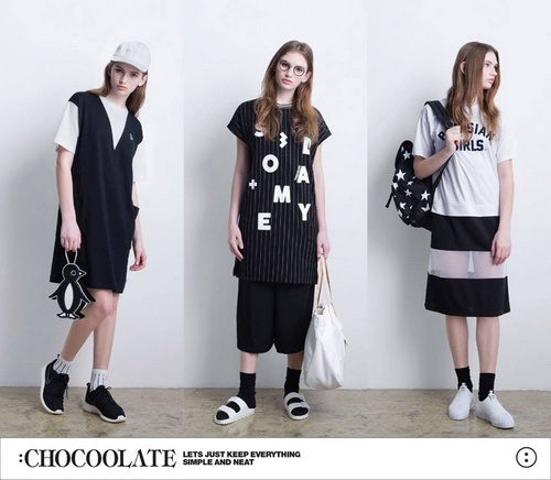 :WHITE CHOCOOLATE clothes Singapore.