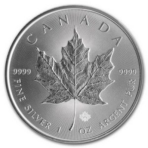 GoldSilver Central Maple Leaf Silver Coin Singapore.