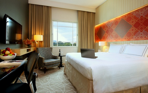 Rendezvous Hotel Singapore Club Room.