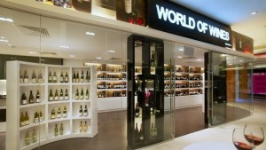 World of Wines shop Novena Square 2 Singapore.
