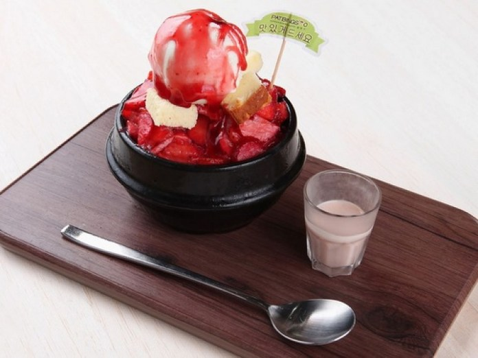 Image result for Patbingsoo - Korea