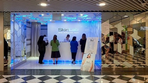 SkinLab The Medical Spa salon at Jurong Point mall in Singapore.